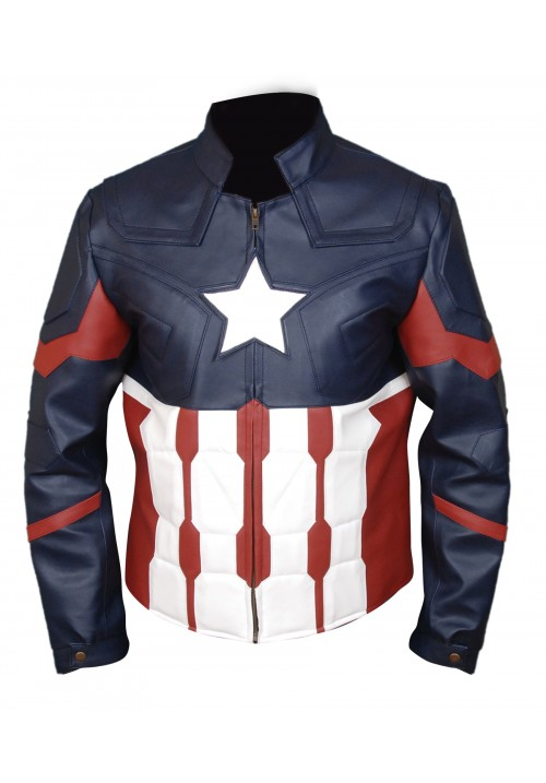 Kids Captain America Civil War Jacket