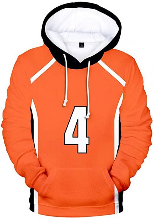 Nishinoya Fleece Hoodie for Men