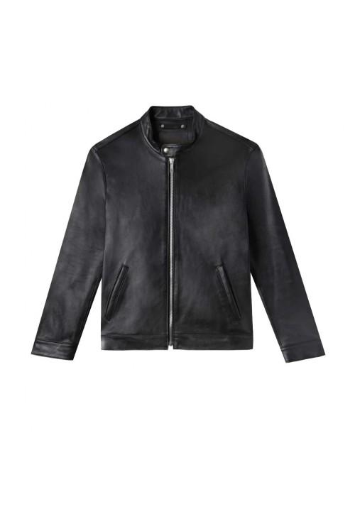 Black Leather Jacket Kids A-1