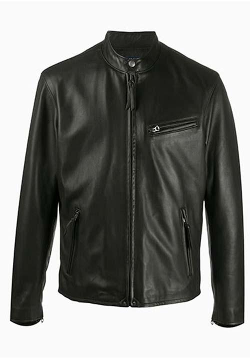 Black Leather Jacket Kids A-10