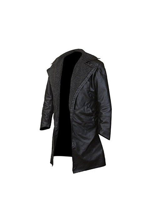 BLADE RUNNER 2049 RYAN GOSLING FAUX FUR LINED OPEN FRONT COAT
