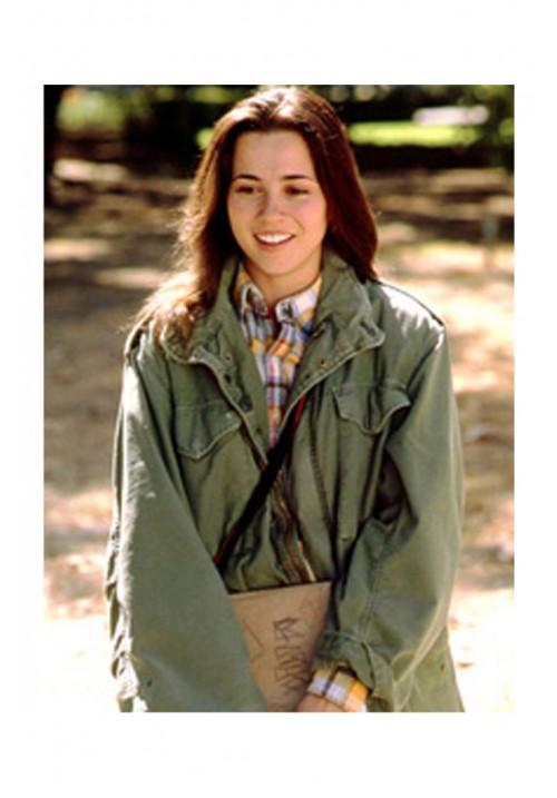 Lindsay Weir Freaks and Geeks - Long Army Green Jacket