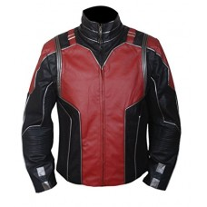 Kids Ant Man Leather Jacket