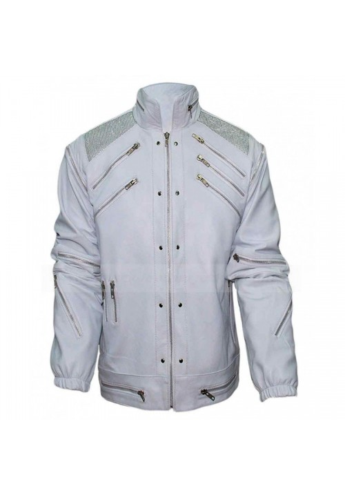 MICHAEL JACKSON WHITE BEAT IT JACKET