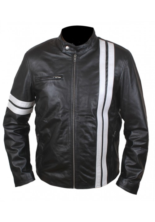 John Tanne Driver Genuine Leather Jacket