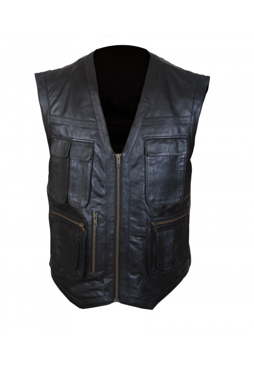 Chris Pratt Jurassic World Pratt Black Vest