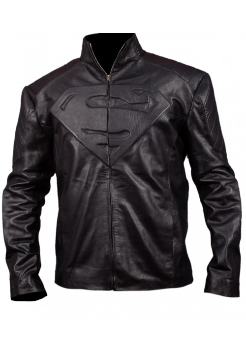 Kids Superman Black Jacket