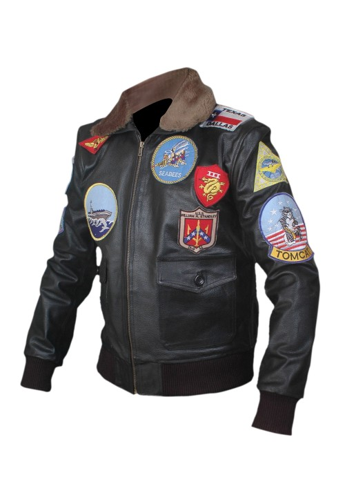 TOP GUN JACKET - TOM CRUISE FLIGHT BOMBER JACKET