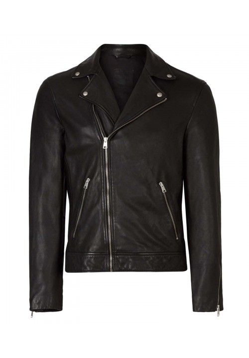 NEW TYSON LEATHER BIKER JACKET