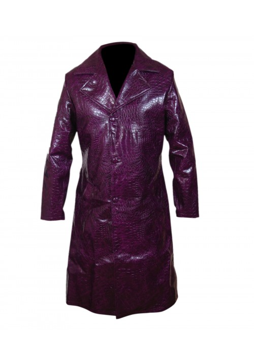 Joker Purple Jacket Coat