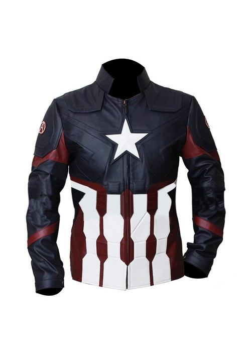 Avengers - Mens Captain America Jacket