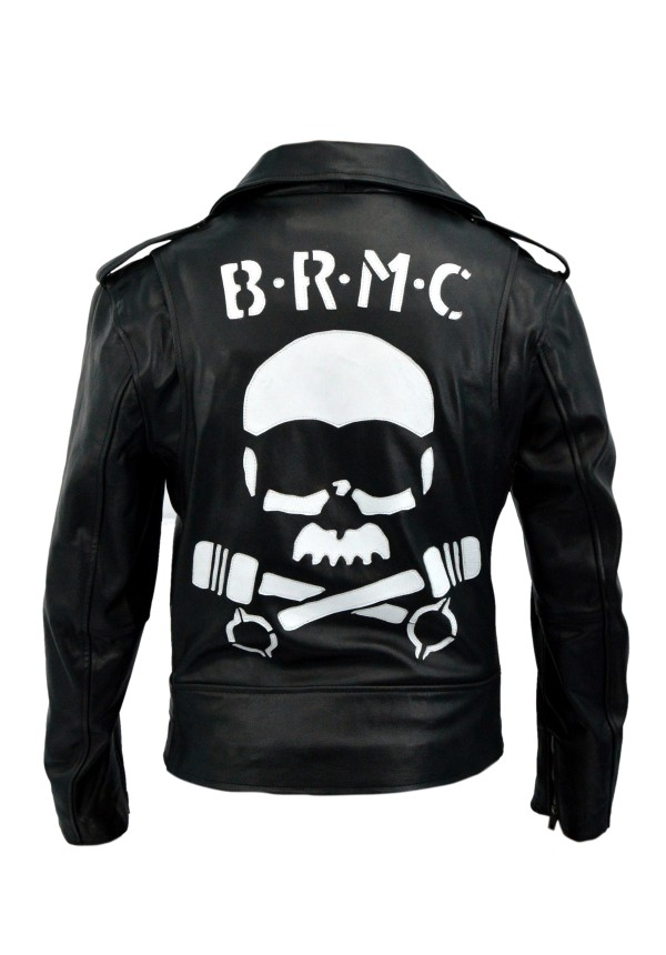 Marlon Brando Johnny Strabler BRMC The Wild One Classic Double Rider Jacket