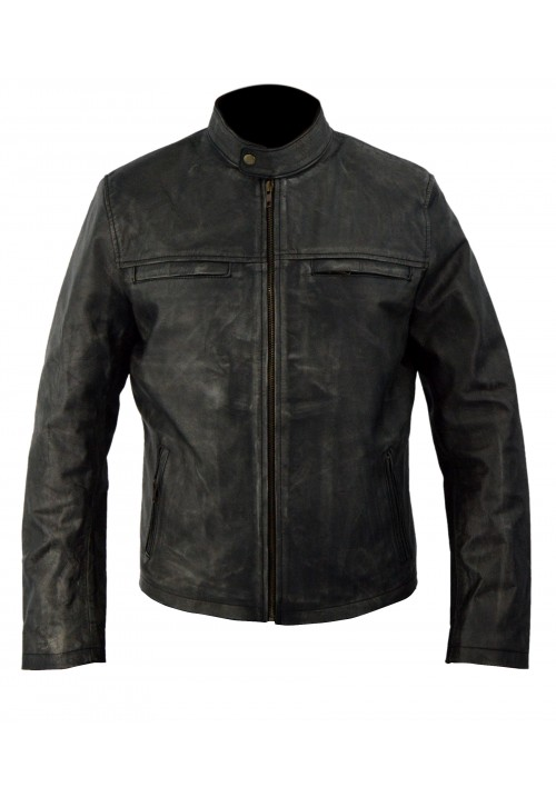 Aaron Taylor Johnson- Godzilla Movie Biker Jacket