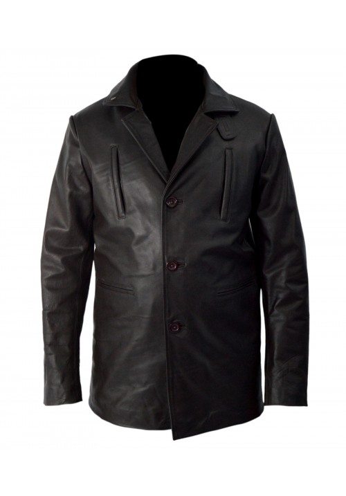 Audacious Leather Max Payne Jacket