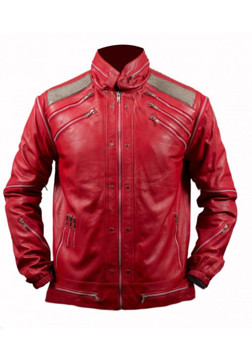 KIDS MICHAEL JACKSON BEAT IT RED JACKET