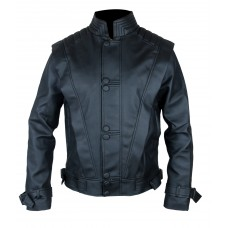 MICHAEL JACKSON Black THRILLER LEATHER JACKET