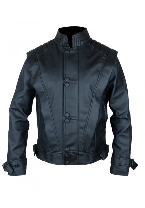 Kids MICHAEL JACKSON BLACK THRILLER LEATHER JACKET