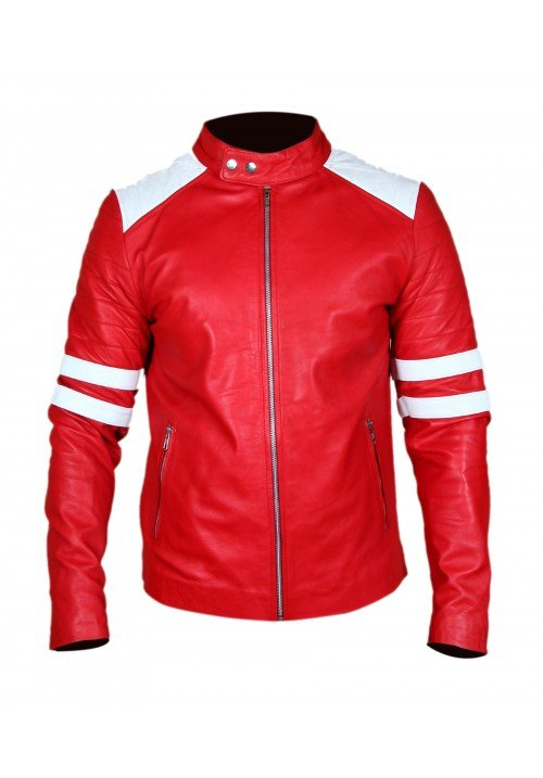Fight Club Brad Pitt (Tyler Durden) Red Jacket