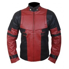 Deadpool Ryan Reynolds Genuine Leather Jacket
