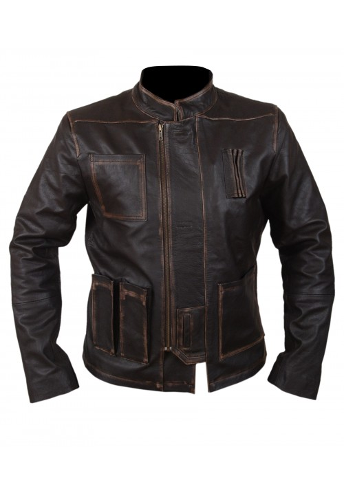 Kids Han Solo Leather Jacket