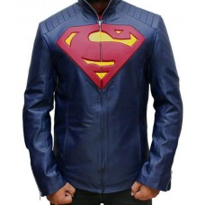 Kids Man of Steel Superman Blue Jacket