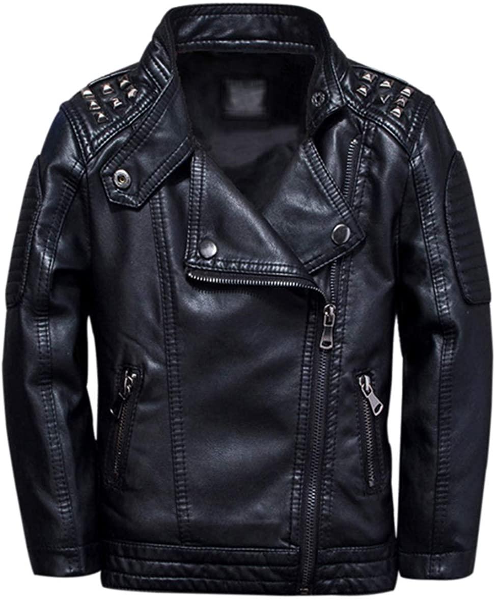 black leather jacket for kids