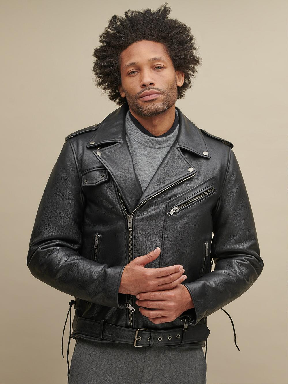 Finn Leather Rider Jacket